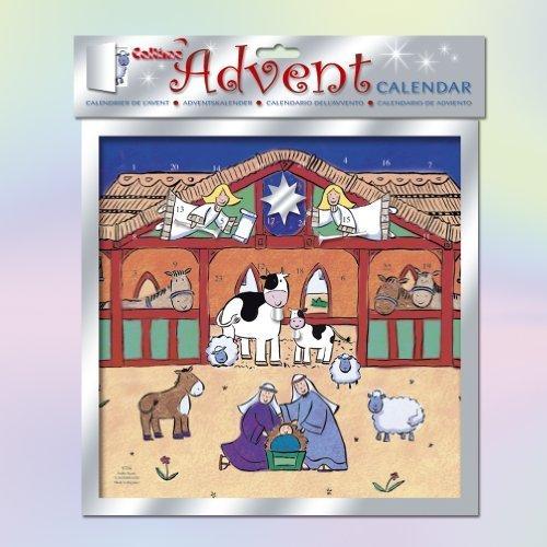 Xmas ~ Christmas ~ Advent Calendar ~ Calender ~ NATIVITY SCENE (S734)