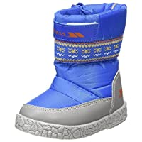 Trespass Toddlers Boys Alfred Winter Snow Boots (9 Toddler UK) (Bright Blue)