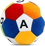 #4: Richy Toys Stuffed Soft Toy Plush Ball Kids Birthday (ABCD) 20cm
