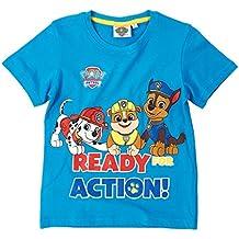 Paw Patrol Chicos Camiseta manga corta - Azul