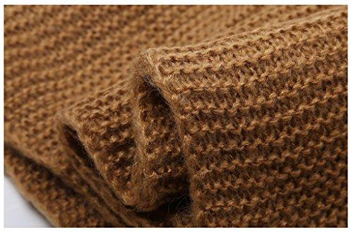 Foulards de laine tricotés Ladies Écharpes Gants chauds Chapeau Trois - Piece ( couleur : Bleu ) Bleu
