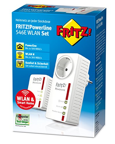 FRITZ!Powerline 546E WLAN Set - 3