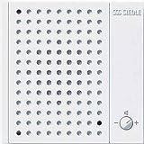 Siedle Nebensignalgerät, Aufputz, NS 711-01, weiß, 2544047