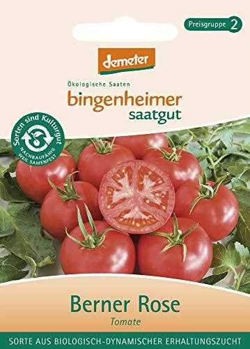 Bingenheimer Saatgut AG Bio Tomate Berner Rose (1 x 1 Stk) Rose Tomate