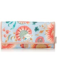 Groovy Sunflower Purse Lh12f, Womens Wallet, Blue (Light Blue), 1x10x18 cm (B x H T) Oilily