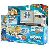 Bandai Disney Pixar Finding Dory Swigglefish Hank Truck Playset Brand New