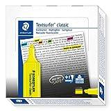 Staedtler Textsurfer Classic 364 Surligneur Jaune fluo Lot de 10