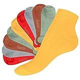 10 Paar original SNEAK IT! Kurzschaft Sneaker Socken - Quarter Socks - für Sie und Ihn - Viele trendige Farben und Größen 35-50 wählbar! - Qualität von celodoro (43-46, Urban Camouflage)