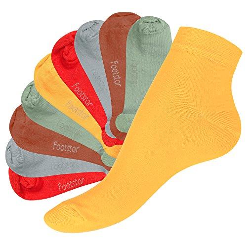 Footstar SNEAK IT! Quarter Socks - Urban Camo - 43-46