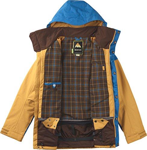 Burton Jackets Mb Frontier Jk Cork Coloblock Glacier Blue/