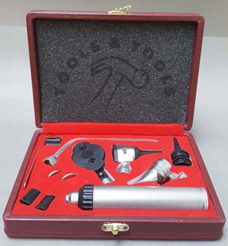 Veterinary Otoscope & Ophthalmoskop Diagnose Set ENT Chirurgischer Instrumente