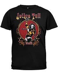 Old Glory - Jethro Tull - Mens Tour 75 Soft T-shirt