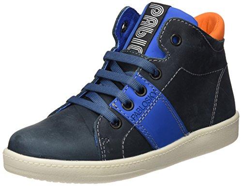 Pablosky 707254, Chaussures garçon Bleu (bleu)