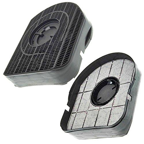Spares2go Tipo 200gris carbono filtro para Ariston Cocina Campana Extractor Ventilación (Pack...