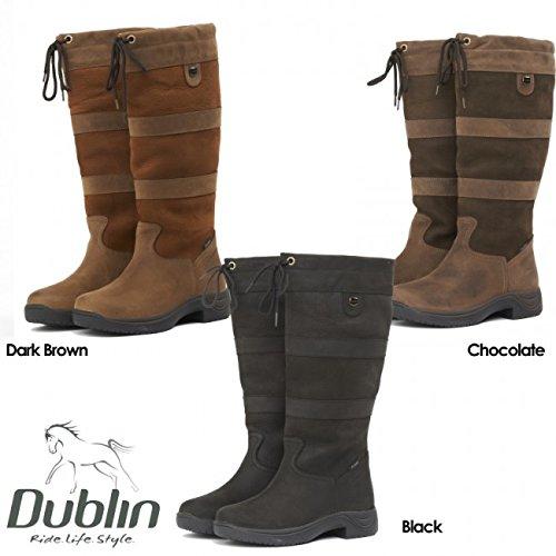 Dublin river bottes imperméables Marron - Schokolade