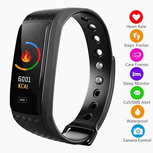 XUWLM Pulsera Fitness Tracker HR Activity Pulsera inteligente Pulsera con podómetro Pantalla...