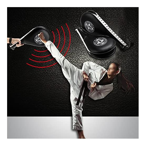 IGNPION 1 Pair Kick Target Pads Taekwondo Karate Kickboxing