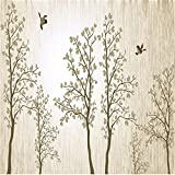 Best Whole House Worlds Bird Houses - YUANLINGWEI Mural Wallpaper Custom 3D Wall Murals Elegant Review