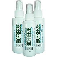 Biofreeze 118,3 ml Spray 3ER PACK DEAL preisvergleich bei billige-tabletten.eu