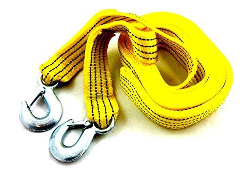 Pro Qualität 4,5m Tow-Pull Seil Gurt Kabel Heavy Duty Garage 5Tonnen Auto Van Fahrzeug Auto Recovery Werkzeug (Pull-kabel)