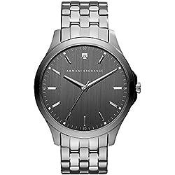b7bfe470ede9 Armani Exchange Reloj Analógico para Hombre de Cuarzo con Correa en Acero  Inoxidable AX2169