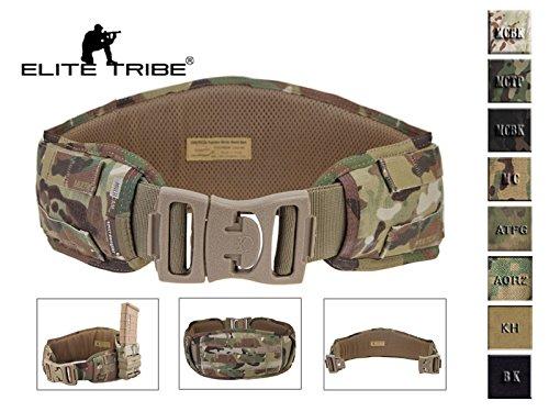 eLITe Airsoft Jagd Tactical Gürtel Gepolstert MOLLE Combat Taille Gürtel, Multicam