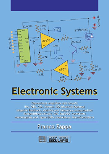 Electronic Systems: Operational amplifiers and circuits INA, OTA, CFA, Norton, ISO advanced OpAmps negative feedback, stability and frequency compensation ... DAC and ADC converters (English Edition) Digital Negative Converter