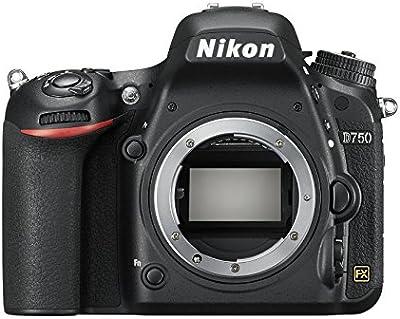 Nikon D750 - Cámara réflex digital de 24.3 Mp (pantalla 3.2
