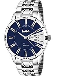 Hala 2051-BL Blue Day and Date Day and Date Watch - Men