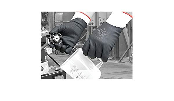 Polyco 110-MAT Matrix F F//coated Gloves Grey//black SZ.10