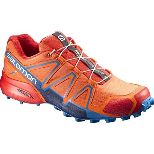 Salomon Speedcross 4, Chaussures de Trail Homme, Vert, 49.3 EU