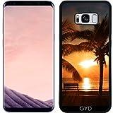 SilikonHülle für Samsung Galaxy S8 Plus (SM-G955) - Sonne Sonnenuntergang Urlaub Ozean by WonderfulDreamPicture