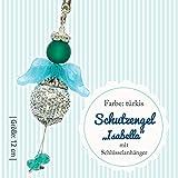 Gogoritas Bastel-Set Schutzengel, türkis, 1 Set