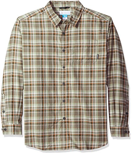 Columbia herren Henley Shirt - grün - (Columbia Henley)