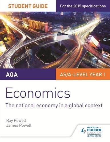 AQA Economics Student Guide 2: The national economy in a global context (Awa Economics Student Guide 2)
