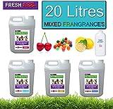 4 x 5 Litres Pet Kennel Disinfectant And Deodoriser Mixed Fragrances 20 LITRES