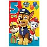 Paw Patrol Popup 2Heute Geburtstag Karte