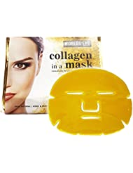5 x Premium Gold Bio Collagen Crystal Face Mask, Anti ageing Skin Care