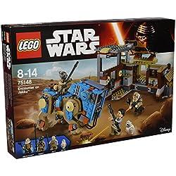 LEGO - 75148 - Star Wars - Jeu de Construction - Rencontre sur Jakku