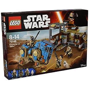 LEGO- Star Wars Encounter On Jakku Costruzioni Gioco Bambina Giocattolo, Colore Vari, 75148 4516793129706 LEGO