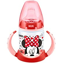 Nuk - Biberón Minnie Mouse de silicona, 150 ml