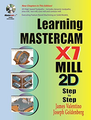 Learning Mastercam X7 Mill 2D Step by Step by James Valentino (2013-09-30)