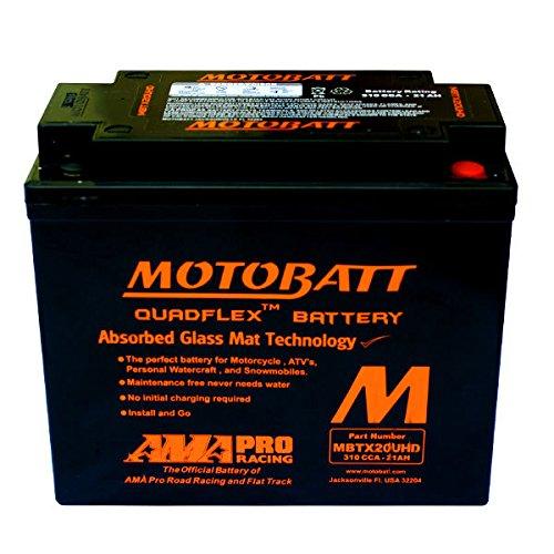 Batteria sigillata precaricata Motobatt MBTX20UHD/YTX20L-BS 12 V 21 Ah 310 CCA
