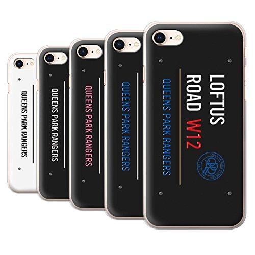 Officiel Queens Park Rangers FC Coque / Etui pour Apple iPhone 8 / Blanc/Bleu Design / QPR Loftus Road Signe Collection Pack 8pcs
