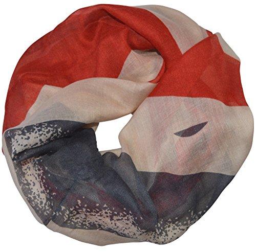 UK Flag Schlauchschal Loopschal Rundschal Loop England Flagge Fahne Großbritannien Union Jack Schal