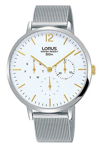 Lorus Womens Chronograph Quartz Watch with Stainless Steel Strap RP689CX9