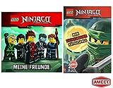 LEGO® Ninjago Set: Meine Freunde (Freundealbum) + Rätselspaß für Ninja-Helden mit Minifigur