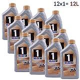 Mobil 1 FS 0W-40W | Olio lubrificante | 12 x 1 litro