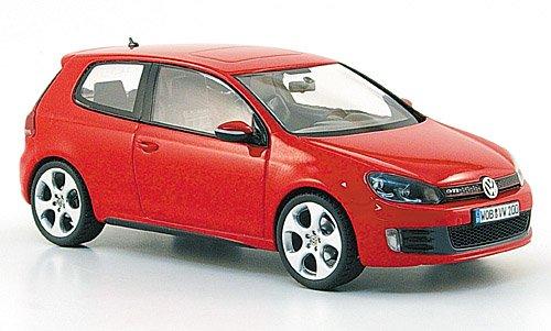 VW Golf VI GTI, rot, 2009, Modellauto, Fertigmodell, Schuco 1:43