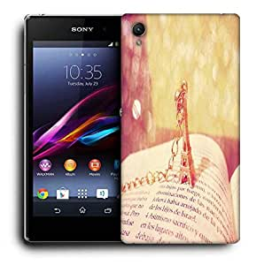 Snoogg Cute Eiffel Tower Designer Protective Phone Back Case Cover For Sony Xperia Z2